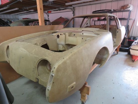 Studebaker Avanti Prototype Coupe Engineering Body