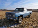 1986 Chevrolet Custom Deluxe C10 Pickup