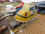 Vintage Skidoo Snowmobile