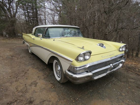 1958 Ford Skyliner Fairlane 500 Retractable Hardtop