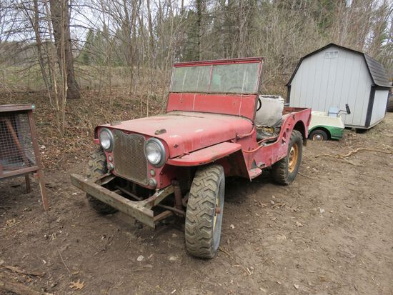 Willys Jeep CJ2A