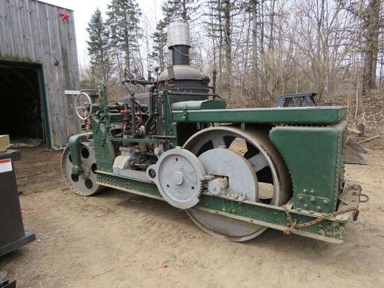 Vintage Buffalo Springfield Steam Roller