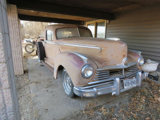 "1947 Hudson Commodore ""big Boy"" Pickup"