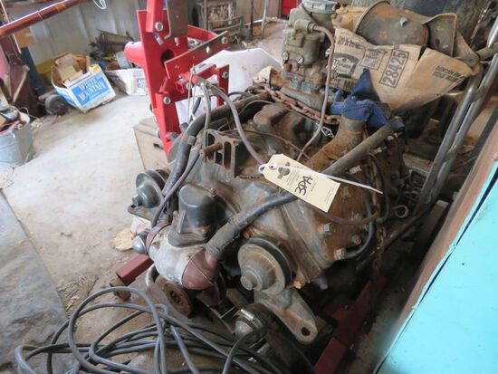 Ford Flathead V8 MOtor and some Parts