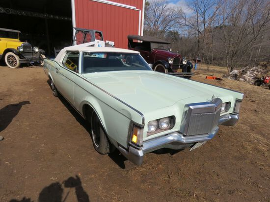 1971 Lincoln Mark III 2dr HT
