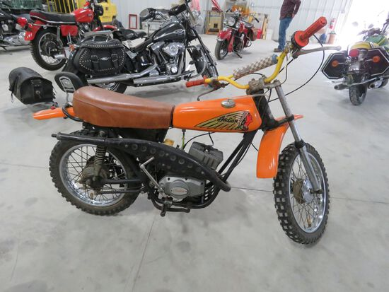 1970's Indian dirt bike
