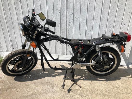 1982 Honda CB900F chassis