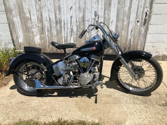 1950 Harley-Davidson FL Panhead