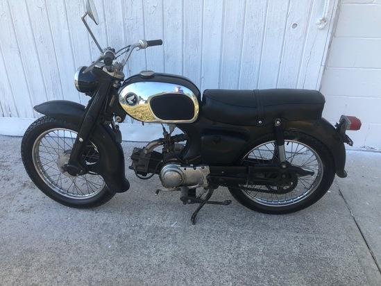 Honda C200 Motorcycle