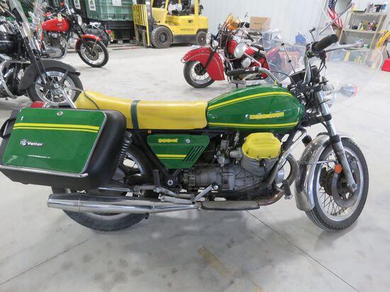 1975 Moto Guzzi 850T Motorcycle