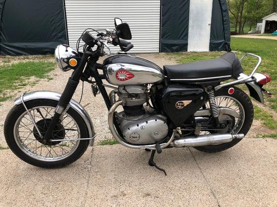 1969 BSA A65T Thunderbolt Motorcycle
