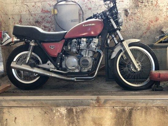 1981 Kawasaki KZ650