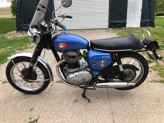 1967 BSA 650CC Motorcycle