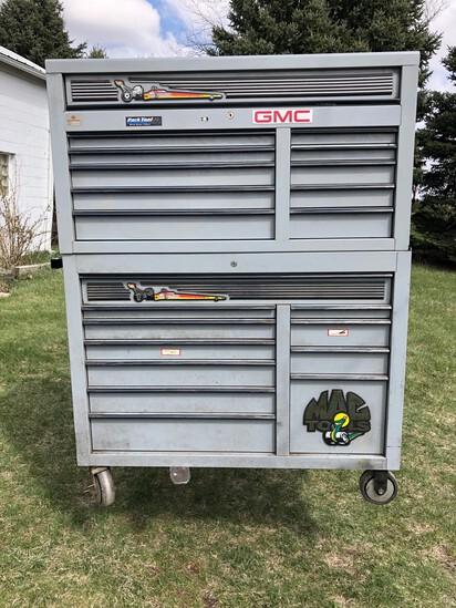 MAC Stacked Rolling Tool Box w/Key