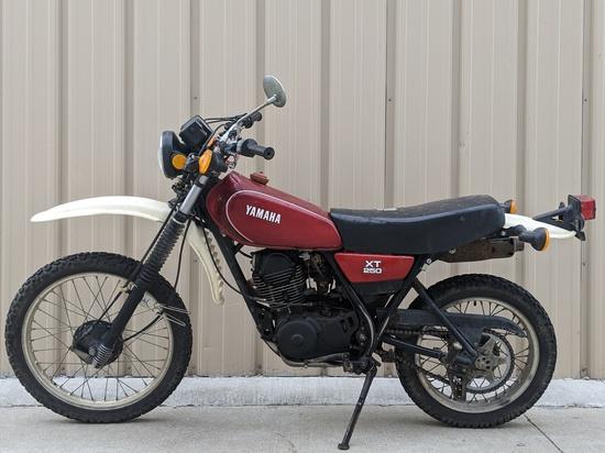 1981 Yamaha XT 250 Enduro