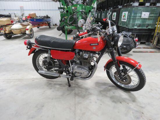 1973 Yamaha S650 Motorcycle