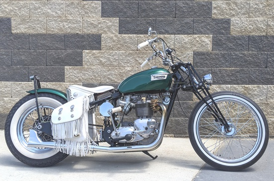 1968 Triumph T120 Chopper