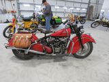 Amazing 1948 Indian Chief Motorcycle