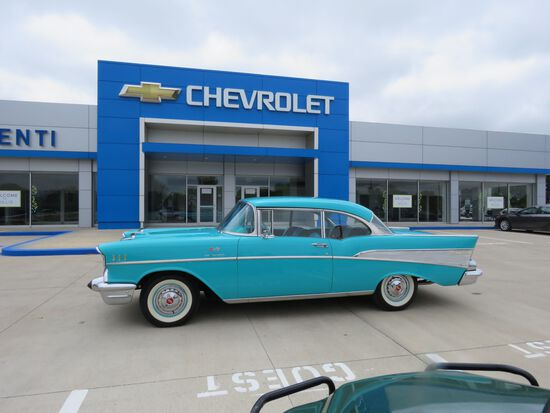 1957 Chevrolet Fuel Injected Belair 2dr HT