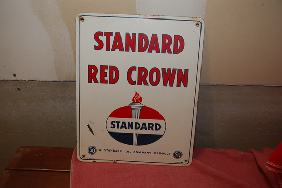 Standard OIl Porcelain Tank Sign