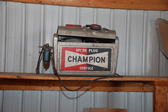 Champion Sparkplug Machine