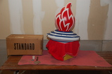 Standard Oil Flame Globe