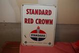 Standard OIl Porcelain Tank Sign