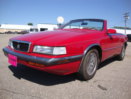 1989 Chrysler TC by Maserati Roadster