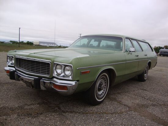 1973 Dodge Polara Custom Wagon