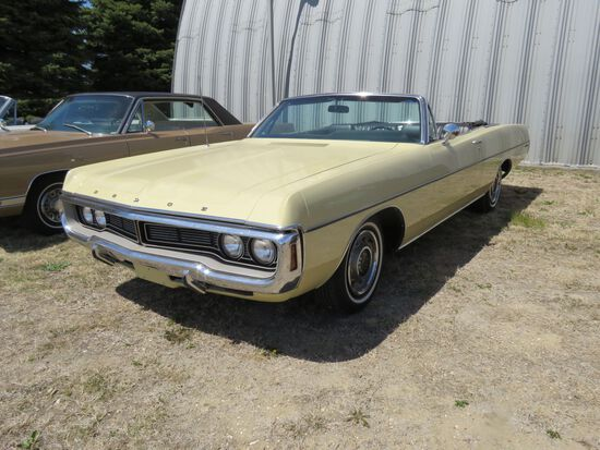 Rare 1970 Dodge Polara Convertible