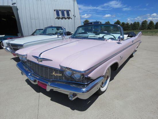 RARE 1960 Chrysler Imperial Crown Convertible