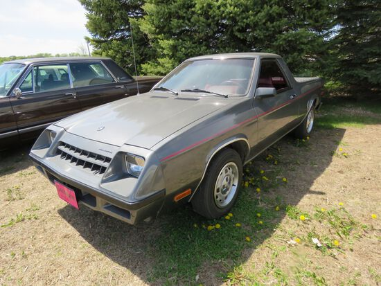 1983 Plymouth Scamp Pickup