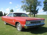 1969 Plymouth Sport Fury Convertible