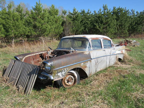 1957 Chevrolet 4dr Sedan parts only