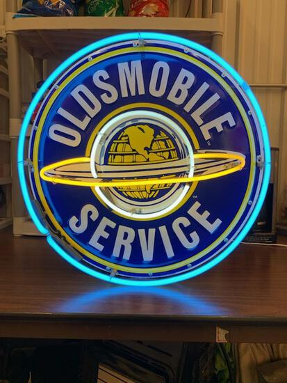 reproduction Neon Oldsmobile Neon