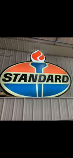 1974 STANDARD OIL LIGHTED SIGN