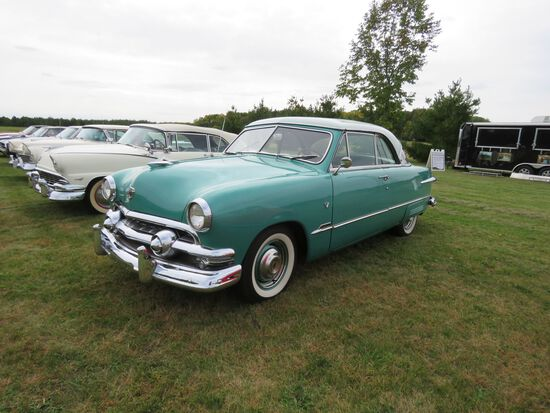 1951 Ford Victoria 2dr HT