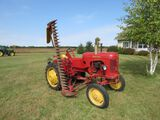 Massey Harris Pony Tractor with attachments