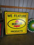 PENNZOIL LIGHTED SIGN