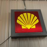 SHELL CLAM LIGHTED SIGN