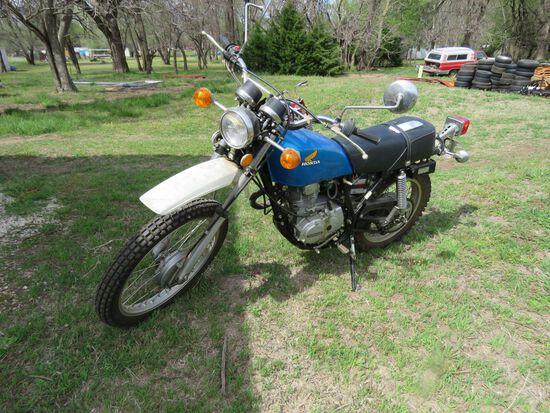 1976 HONDA XL250 MOTORCYCLE