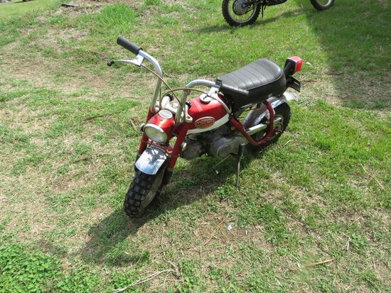 1971 HONDA MINI TRAIL MOTORCYCLE