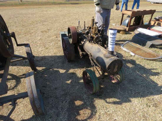 MINIATURE STEAM TRACTION TRACTOR