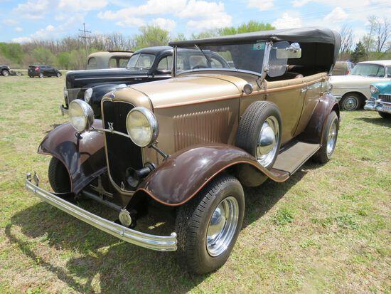 1932 FORD PHAETON RIGHT HAND DRIVE