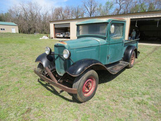 1932 FORD Model B PICKUP - Barn Fresh