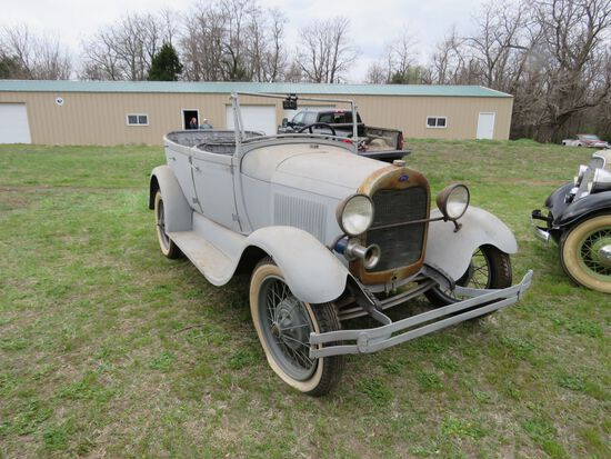 1929 FORD MODEL A PHAETON PROJECT