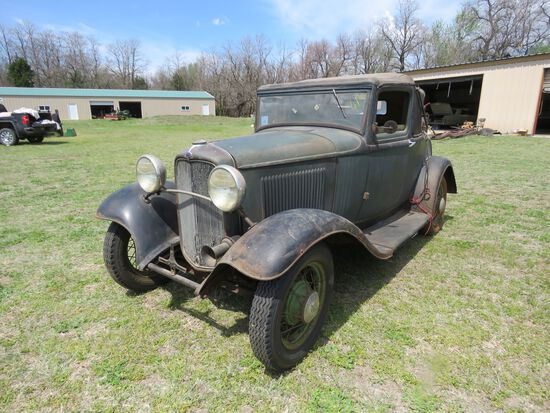 1932 FORD SPORT COUPE ORIGINAL PROJECT
