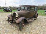 1928 FORD MODEL A 4DR SEDAN