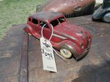 CHRYSLER AIRFLOW PRESSED TIN TOY