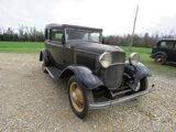 RARE 1932 FORD B400 2DR CONVERTIBLE SEDAN V8
